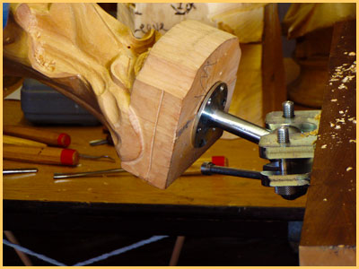 Little House Woodcarving Eli Vise